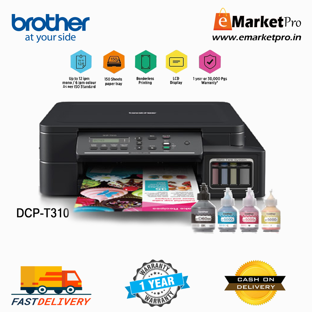 Brother DCP-T310 Inktank System Printer